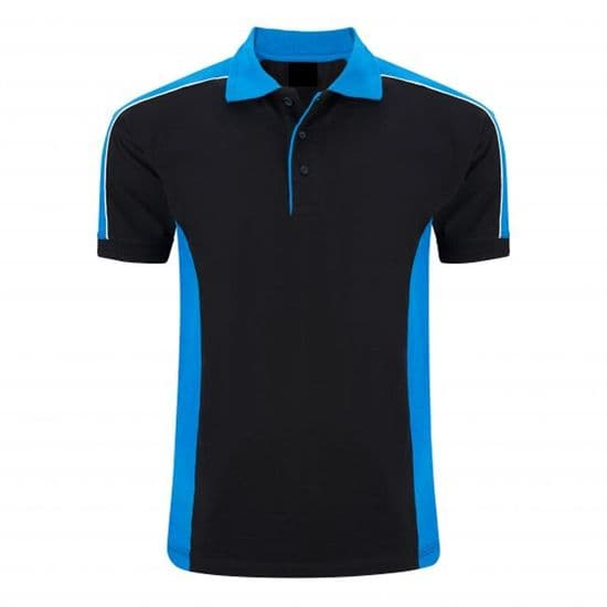 Wicking Contrast Polo