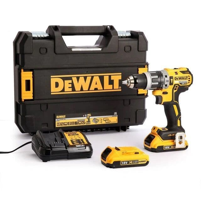 Dewalt DCD796D2 18V XR Brushless Compact Combi Drill (2 x 2.0Ah Batteries)