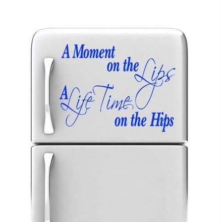 A Moment On The Lips Kitchen Wall Sticker