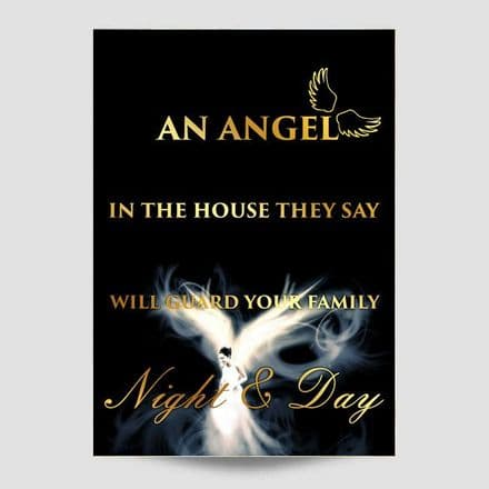 An Angel In The House Wall Art