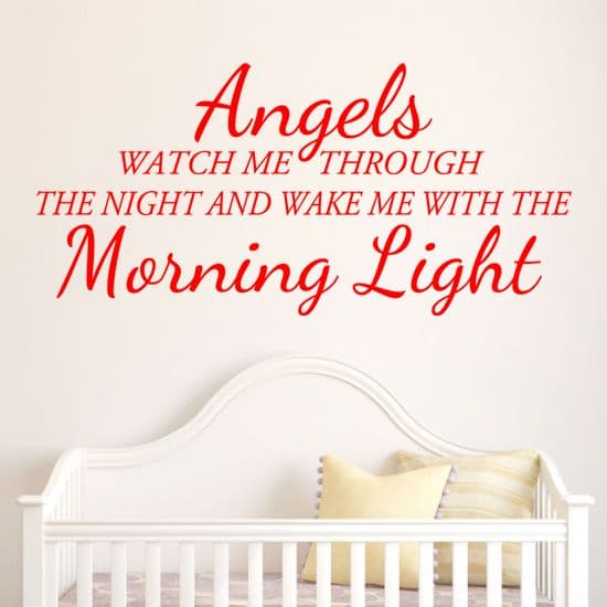 Angels Watch Me Through The Night Quote
