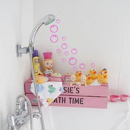 Bubble Bathroom Wall Stickers