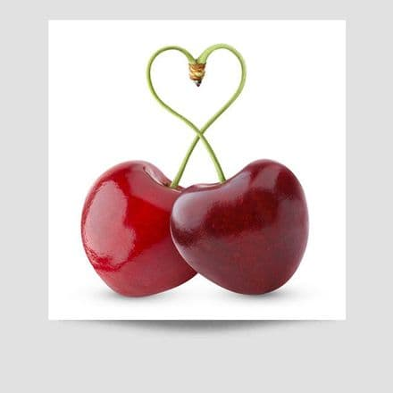 Cherries Kitchen Poster
