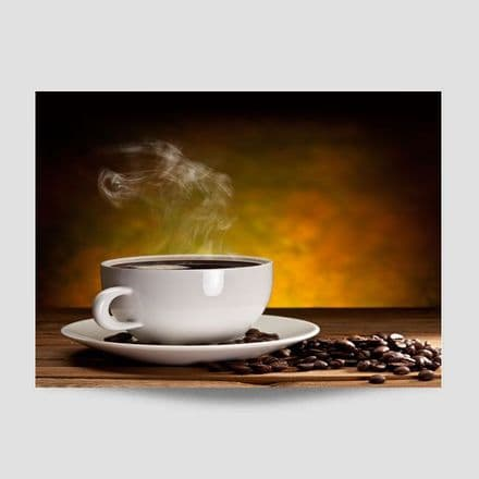 Cup Of Coffee Kitchen Wall Art