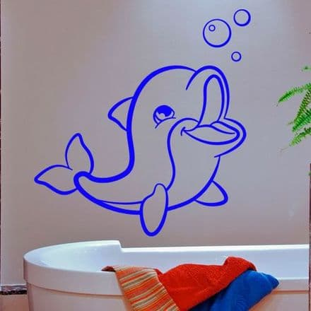 Cute Baby Dolphin Sticker