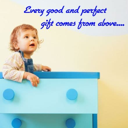 Every Good And Perfect Gift Wall Quote Sticker
