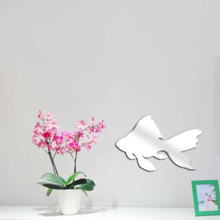 Fish Shaped Mirror Shatterproof