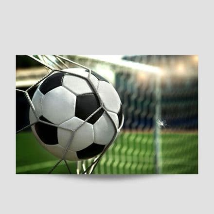 Football And Net Sports Poster