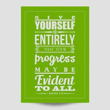 Give Yourself Entirely Poster