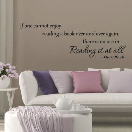 If One Cannot Enjoy Reading