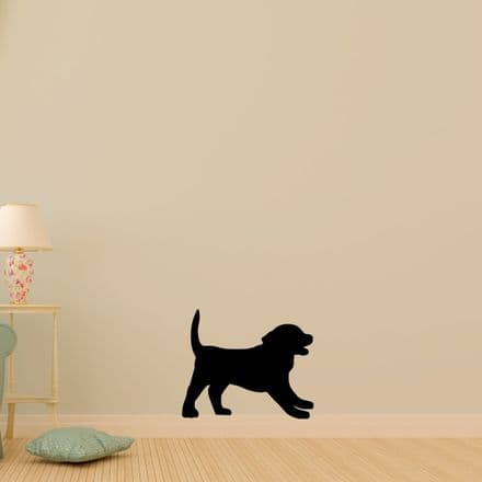 Labrador Puppy Sticker
