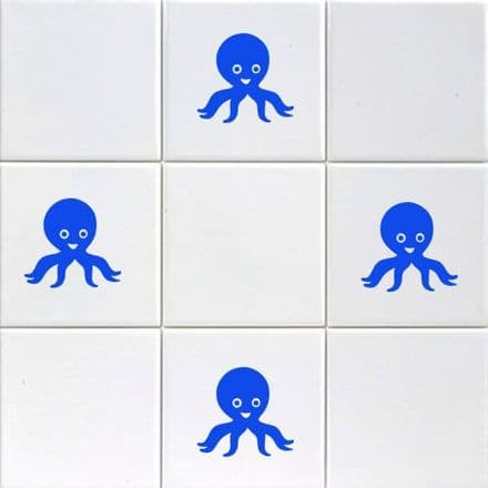 Mini Octopus Stickers