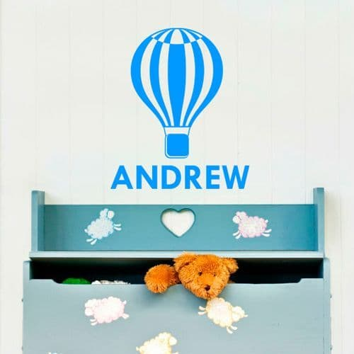 Personalised Hot Air Balloon For Kids