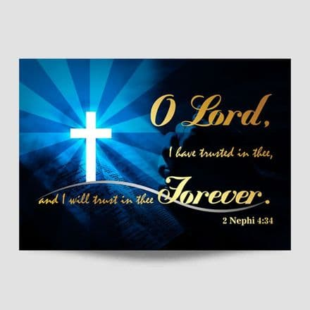 O Lord Poster