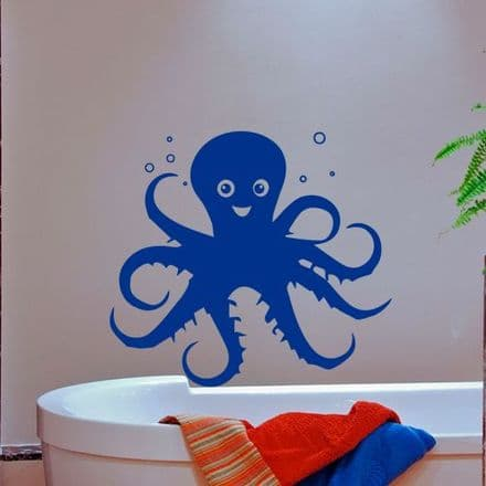 Octopus Bathroom Wall Sticker