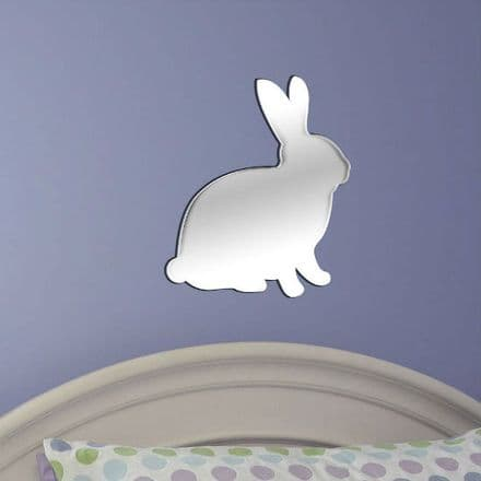 Rabbit Shaped Mirror Shatterproof