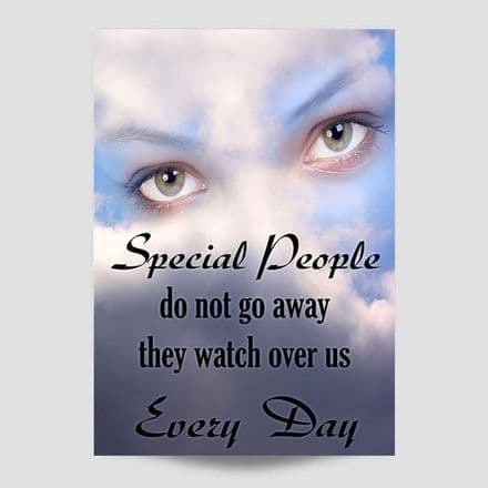 Special People Do Not Go Away Poster