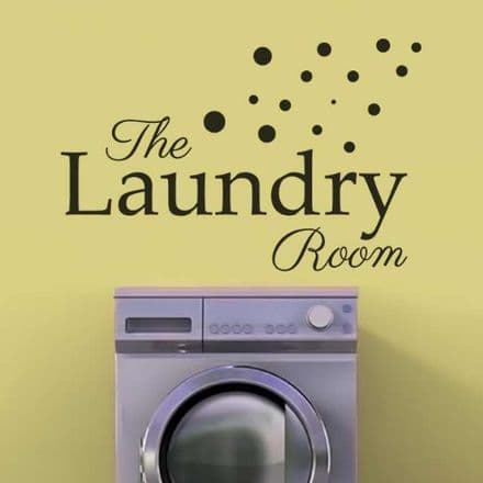 The Laundry Room Sticker