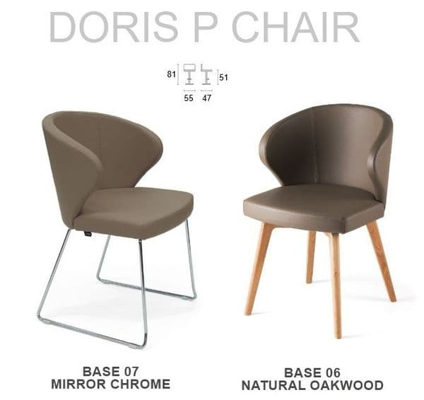 Doris P Chair - All Bases