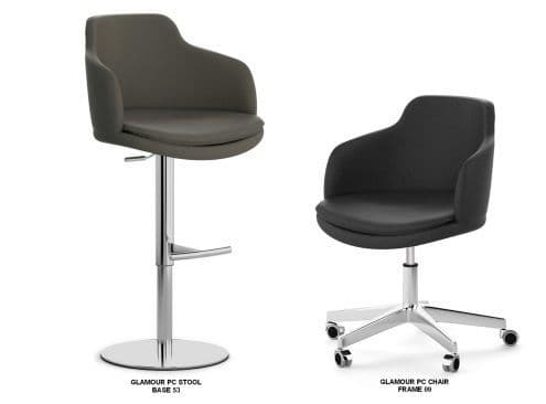 Glamour PC Stool and Matching Chair
