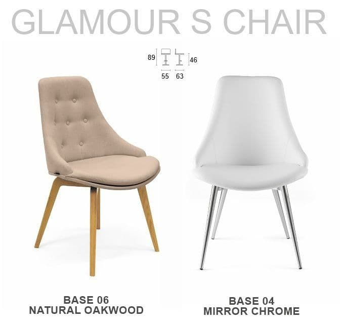 Glamour S Side Chair