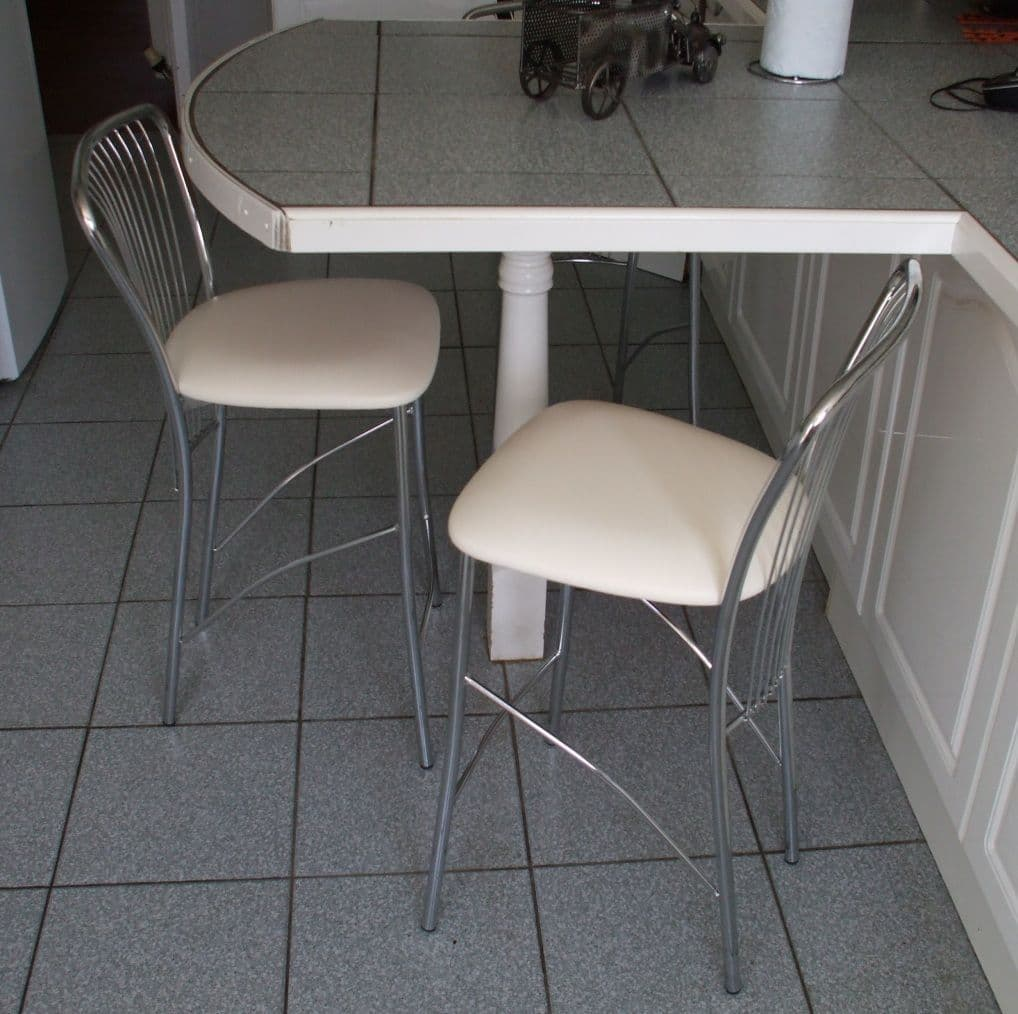 Harp Fixed Height Stool - IN STOCK