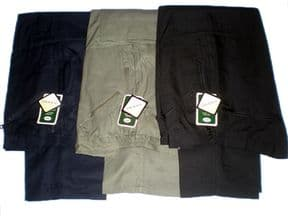 CARABOU MENS WORKING/WALKING THERMAL LINED ACTION CARGO/COMBAT TROUSERS/PANTS