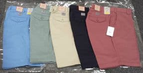 Classic Chino Cotton Shorts Self Side Adjusting Exapandable Waist  W32 to W54