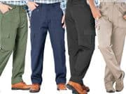 Mens Action Work Walking Hiking Combat Cargo Trousers  W 30 to 48 L 27 29 31 33
