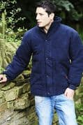 Mens Moleskin Quilted Hunting/Walking/ Fishing/ Shooting Country Quilted Jacket