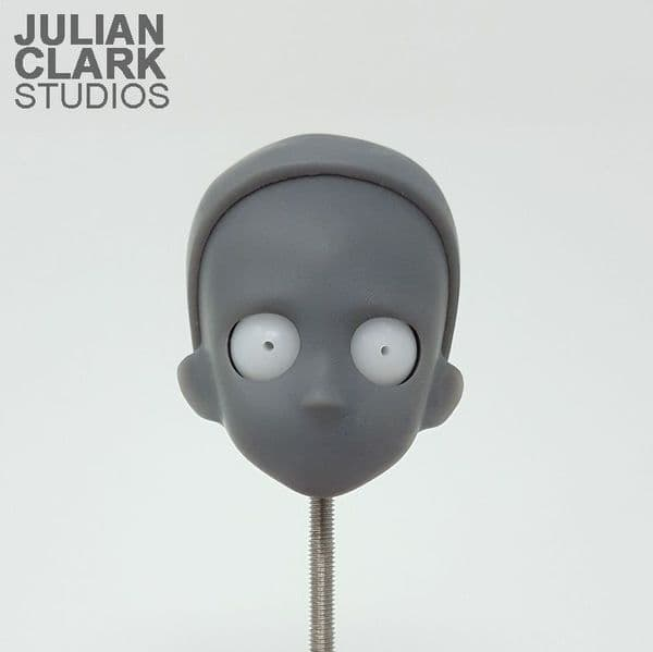 3D Printed Puppet Head - Simple