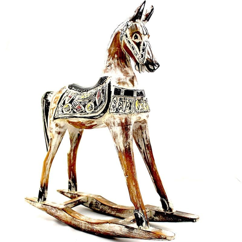 Rocking Horse Home Decor Vintage Rustic  Gifts for the Home Handmade