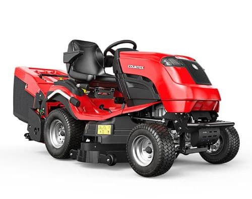 "Countax B255 4WD Ride-On Mower with 38"" XRD deck"