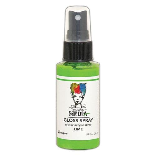 Ranger Dina Wakley Media Gloss Spray 2oz - Lime