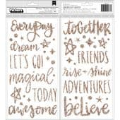 American Crafts Shimelle - Thickers Stickers - Head in the Clouds