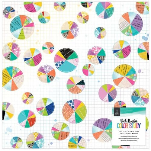 American Crafts Vicki Boutin Specialty Paper 12x12 - Color Study