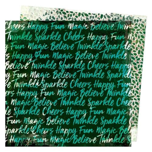 American Crafts Vicki Boutin Warm Wishes 12x12 - Believe in the Magic