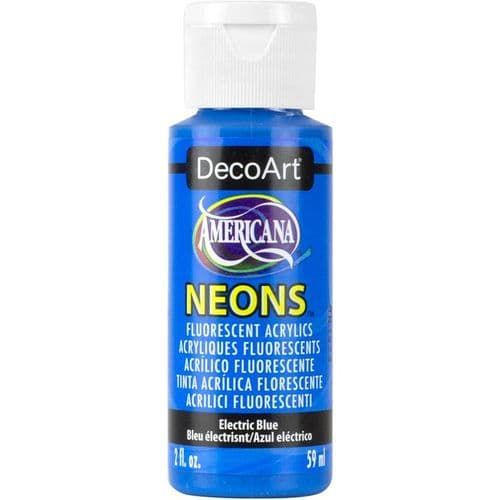 Americana Acrylic Neons - Electric Blue - DHS6