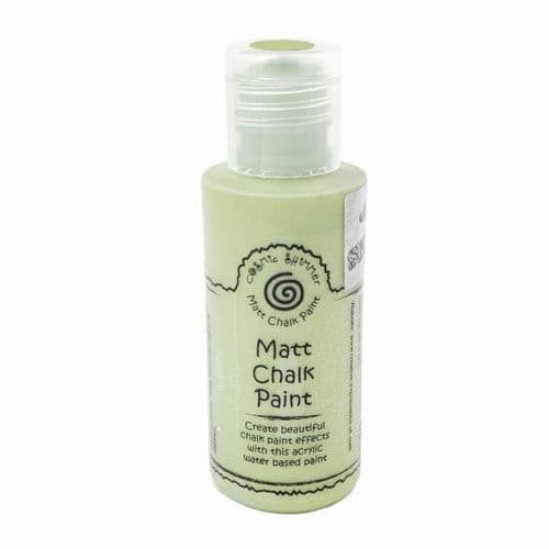 Andy Skinner Cosmic Shimmer - Matt Chalk Paint Olive Grove