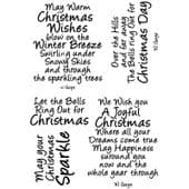 Card-io Combinations A6 Clear Stamp Set - Winter Wishes 4 - CDCCSTWIN-11