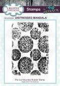 CE Rubber Stamp by Andy Skinner - Distressed Mandala