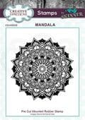 CE Rubber Stamp by Andy Skinner - Mandala