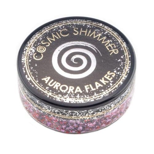 Cosmic Shimmer Aurora Flakes - Blissful Berry
