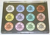 Cosmic Shimmer Iridescent Watercolour Palette - Set 8 - Perfect Pastels