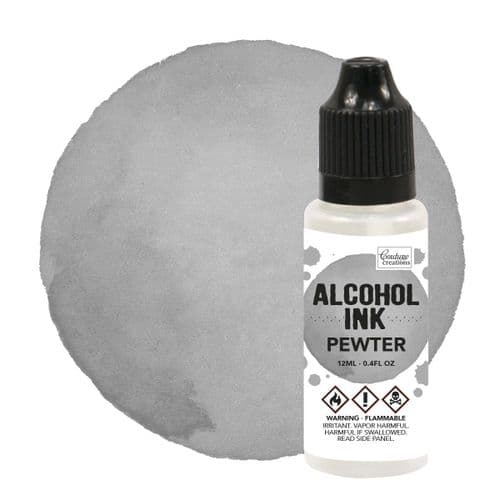 Couture Creations Alcohol Ink - Pewter