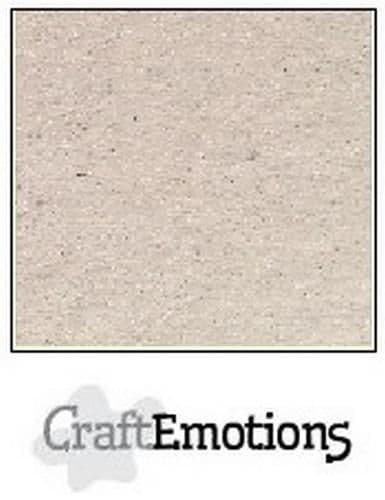 Craft Emotions Kraft 12x12 Cardstock - Chalky