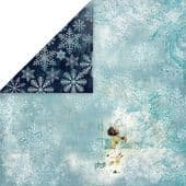 Craft & You 12x12 Scrapbook Paper - North Wind 02 - NW02