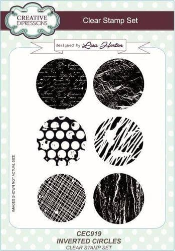 Creative Expressions - A5 Clear Stamp Set Inverted Circles