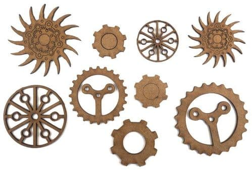 Creative Expressions Art-Effex - Cogs and Gears