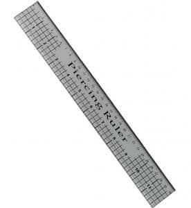 Creative Expressions Piercing Ruler